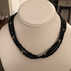 Silpada Retired Black and Silver Necklace